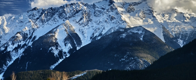 Mount Currie - the quintessential Pemberton view.